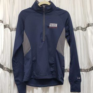 Under Armour Auburn Semi-Fitted Cold Gear Half Zip